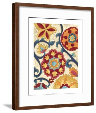 Suzani Splendor I-Chariklia Zarris-Framed Premium Giclee Print