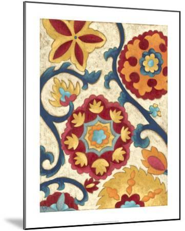Suzani Splendor I-Chariklia Zarris-Mounted Premium Giclee Print
