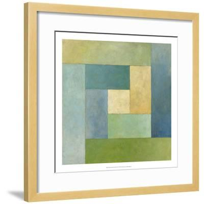 Quilted Abstract II-Megan Meagher-Framed Premium Giclee Print