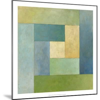 Quilted Abstract II-Megan Meagher-Mounted Premium Giclee Print