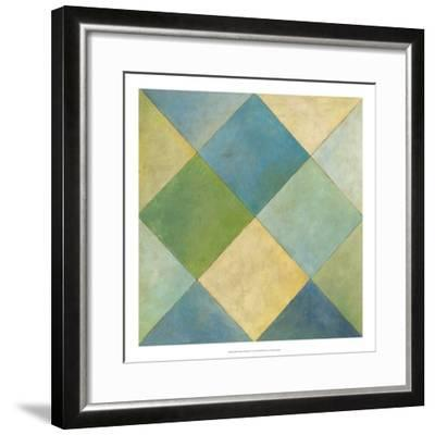 Quilted Abstract III-Megan Meagher-Framed Premium Giclee Print