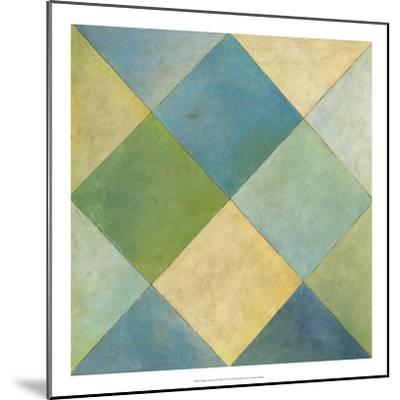 Quilted Abstract III-Megan Meagher-Mounted Premium Giclee Print