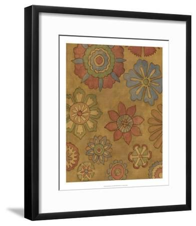 Pinwheel Blossoms II-Megan Meagher-Framed Premium Giclee Print