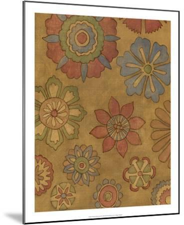 Pinwheel Blossoms II-Megan Meagher-Mounted Premium Giclee Print