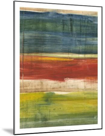 Vibrant Abstract I-Ethan Harper-Mounted Premium Giclee Print