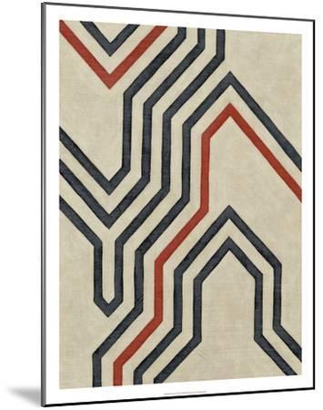 Diversion II-Chariklia Zarris-Mounted Premium Giclee Print