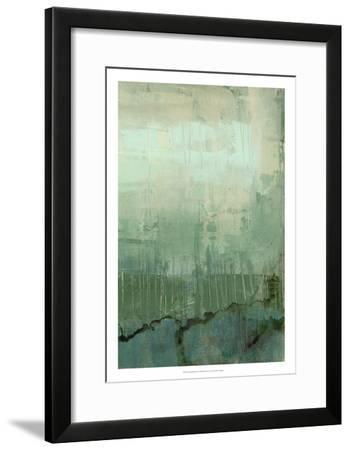 Emerald Sky II-Jennifer Goldberger-Framed Premium Giclee Print
