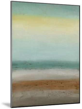 Seaside Serenity I-June Vess-Mounted Premium Giclee Print