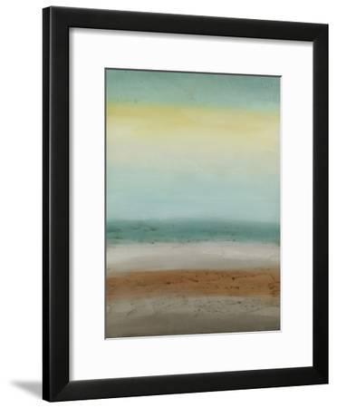 Seaside Serenity I-June Vess-Framed Premium Giclee Print