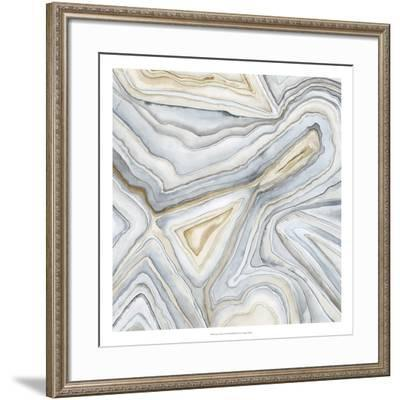 Agate Abstract I-Megan Meagher-Framed Premium Giclee Print