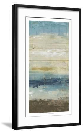 Ocean Strata II-June Vess-Framed Premium Giclee Print