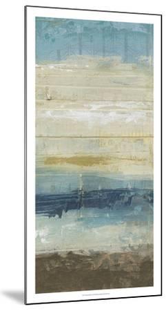 Ocean Strata II-June Vess-Mounted Premium Giclee Print