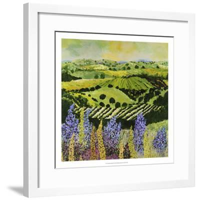 Wildflower Ridge-Allan Friedlander-Framed Premium Giclee Print