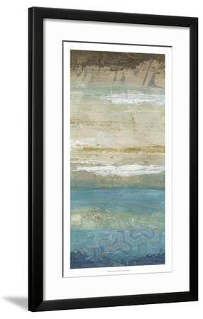 Ocean Strata III-June Vess-Framed Premium Giclee Print