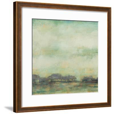 Treeline Sunrise I-Jennifer Goldberger-Framed Premium Giclee Print