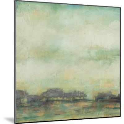 Treeline Sunrise I-Jennifer Goldberger-Mounted Premium Giclee Print