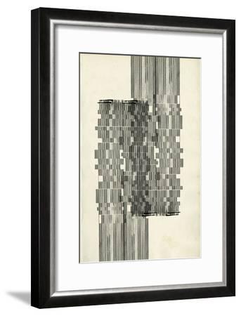 Stagger Start I-Jennifer Goldberger-Framed Premium Giclee Print