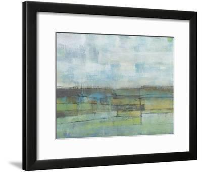 Tiered Farmland I-Jennifer Goldberger-Framed Premium Giclee Print