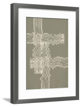 Stagger Start III-Jennifer Goldberger-Framed Premium Giclee Print