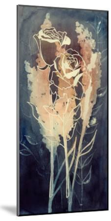 Flowers at Midnight I-Grace Popp-Mounted Premium Giclee Print