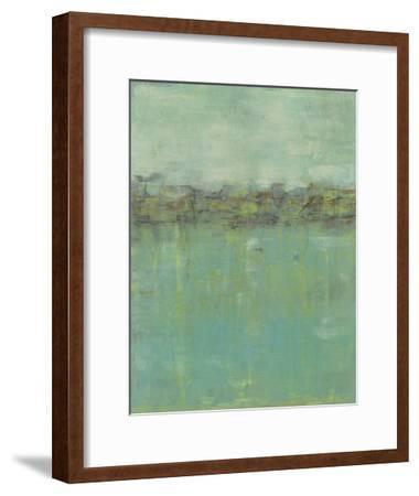 Horizon Line Abstraction II-Jennifer Goldberger-Framed Premium Giclee Print