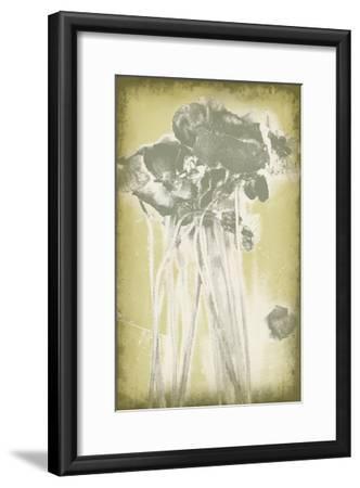 Poppies in Relief I-Jennifer Goldberger-Framed Premium Giclee Print