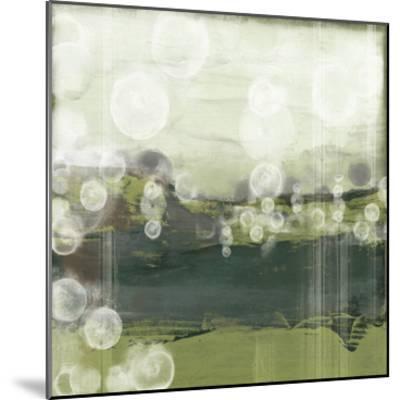 Horizon Spheres II-Jennifer Goldberger-Mounted Premium Giclee Print