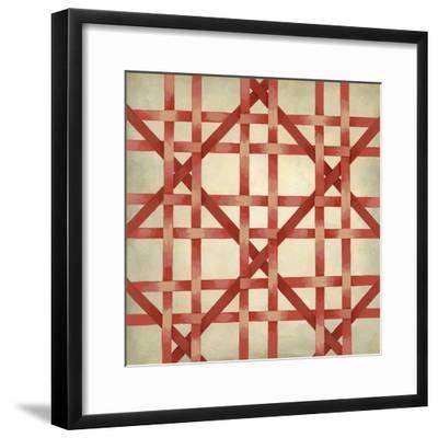 Woven Symmetry III-Chariklia Zarris-Framed Premium Giclee Print