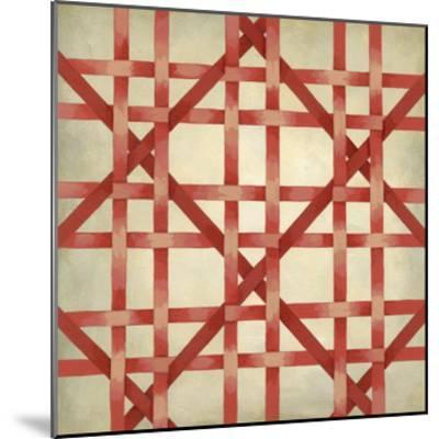 Woven Symmetry III-Chariklia Zarris-Mounted Premium Giclee Print