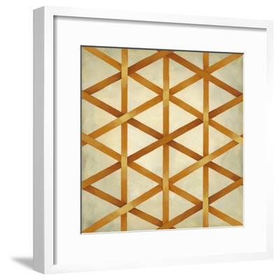 Woven Symmetry IV-Chariklia Zarris-Framed Premium Giclee Print