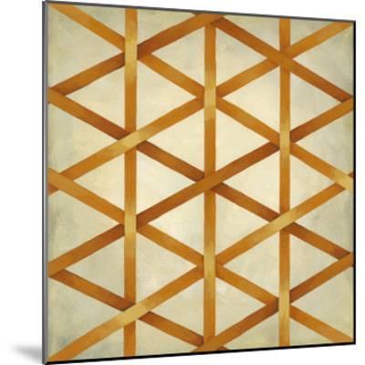 Woven Symmetry IV-Chariklia Zarris-Mounted Premium Giclee Print