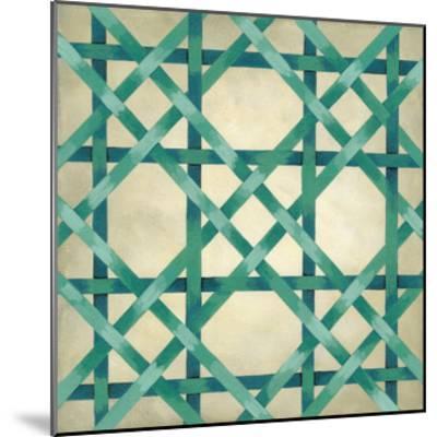 Woven Symmetry VI-Chariklia Zarris-Mounted Premium Giclee Print