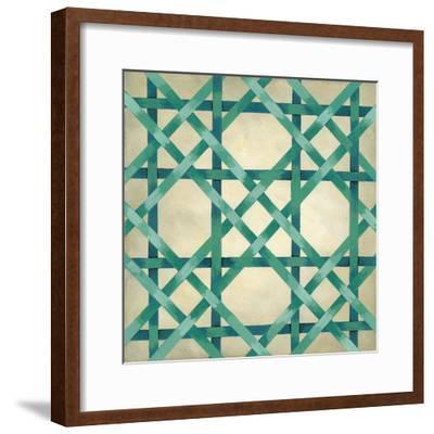 Woven Symmetry VI-Chariklia Zarris-Framed Premium Giclee Print