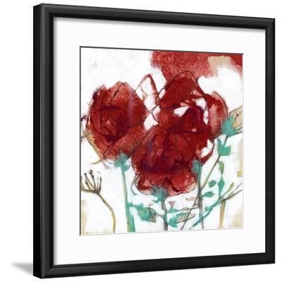Flower Expression I-Jennifer Goldberger-Framed Premium Giclee Print