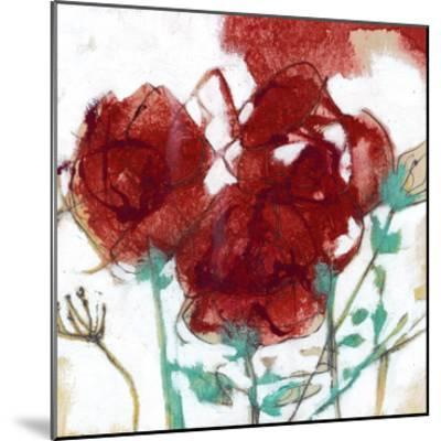 Flower Expression I-Jennifer Goldberger-Mounted Premium Giclee Print