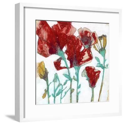 Flower Expression II-Jennifer Goldberger-Framed Premium Giclee Print