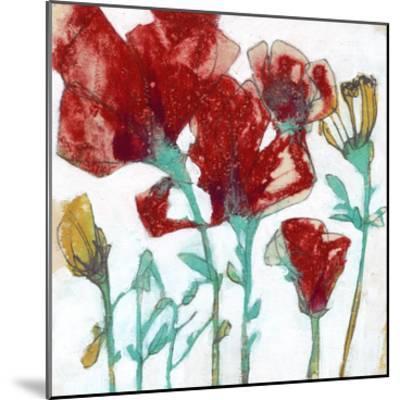 Flower Expression II-Jennifer Goldberger-Mounted Premium Giclee Print