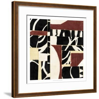Pieces and Parts I-Jennifer Goldberger-Framed Premium Giclee Print