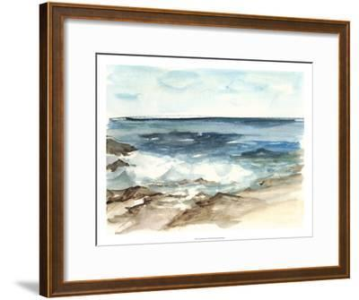 Coastal Watercolor V-Ethan Harper-Framed Premium Giclee Print