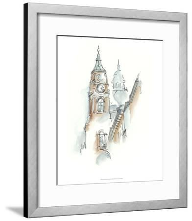 European Watercolor Sketches I-Ethan Harper-Framed Premium Giclee Print
