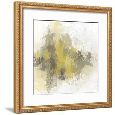 Saffron Abstract II-June Vess-Framed Premium Giclee Print