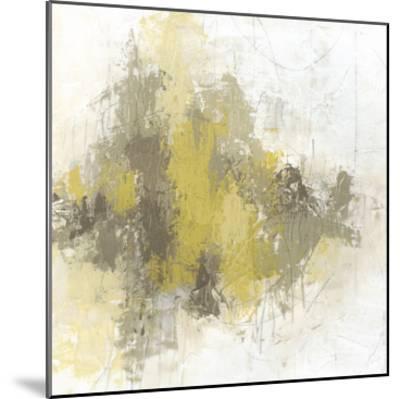 Saffron Abstract II-June Vess-Mounted Premium Giclee Print