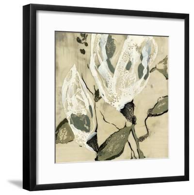 Flower Pods II-Jennifer Goldberger-Framed Premium Giclee Print