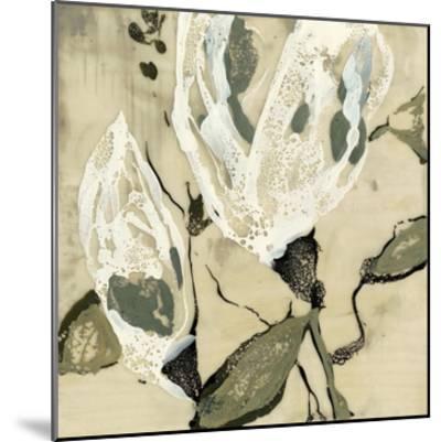Flower Pods II-Jennifer Goldberger-Mounted Premium Giclee Print