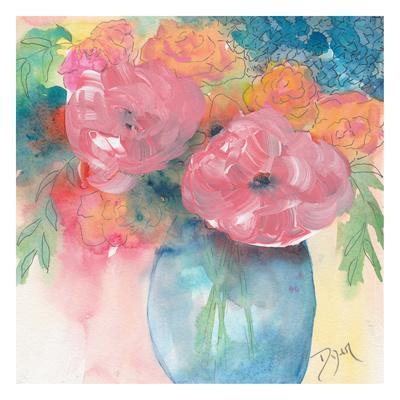 Summer Bouquet-Beverly Dyer-Framed Art Print