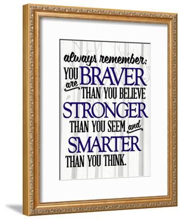 Always Remember-Kimberly Allen-Framed Art Print