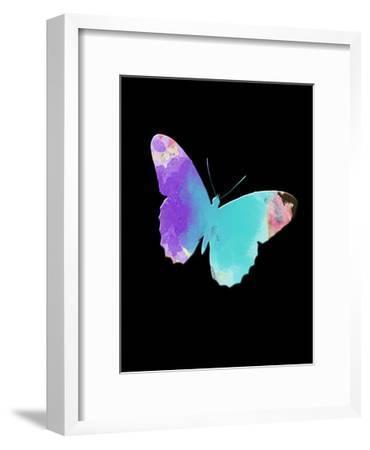 Watercolor Butterfly-Sheldon Lewis-Framed Art Print
