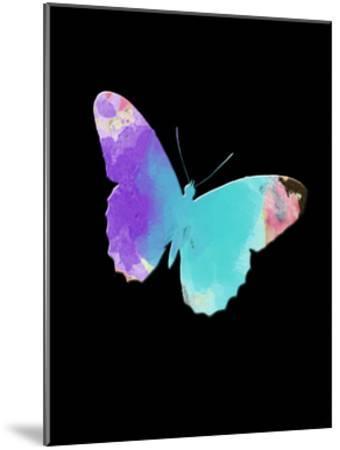 Watercolor Butterfly-Sheldon Lewis-Mounted Art Print