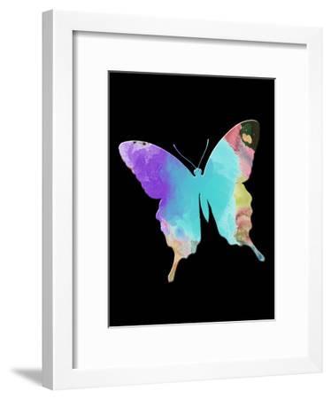 Butterfly Watercolor-Sheldon Lewis-Framed Art Print