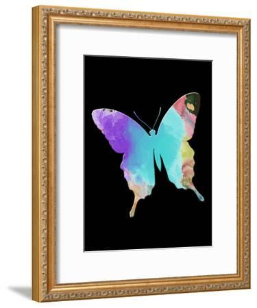 Butterfly Watercolor-Sheldon Lewis-Framed Art Print